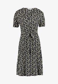 Dorothy Perkins Tall - NAVY DITSY WRAP DRESS - Jersey dress - navy - 3