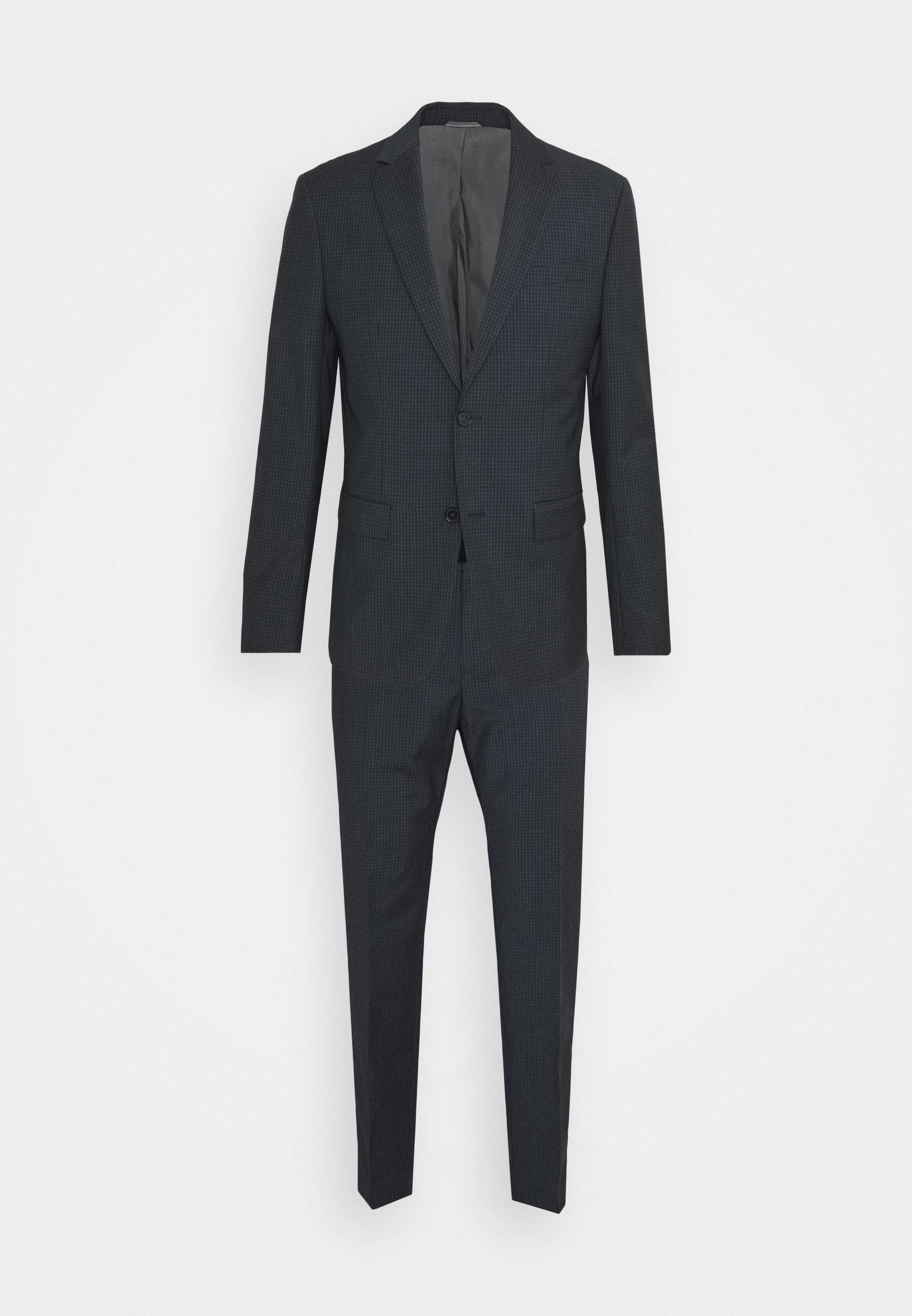 Men SHADOW GRID EXTRAFINE SUIT - Suit