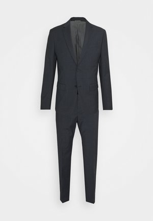 SHADOW GRID EXTRAFINE SUIT - Completo - blue