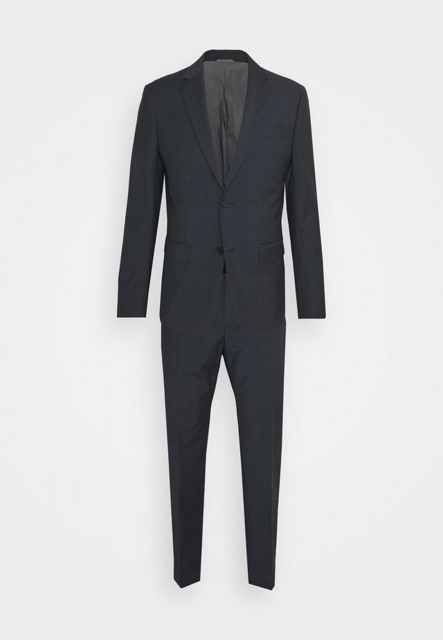 SHADOW GRID EXTRAFINE SUIT - Puku - blue