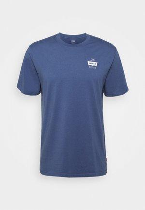 TEE UNISEX - T-shirt z nadrukiem - blue indigo