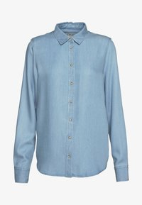 Mos Mosh - MARTINA - Button-down blouse - light blue - 3
