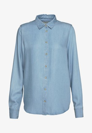 MARTINA - Button-down blouse - light blue