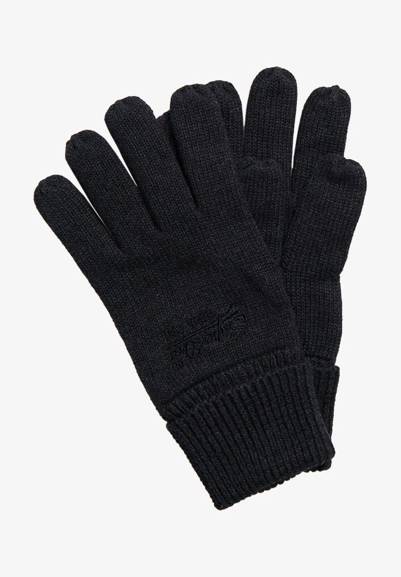 Superdry - ORANGE LABEL - Gloves - dark charcoal grit
