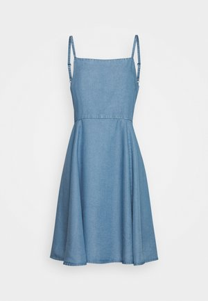 CAMI - Denim dress - bright medium