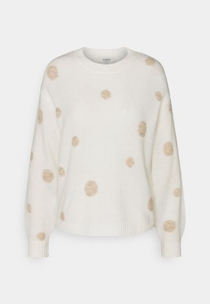 MARTINE DOT JUMPER  - Jumper - off white