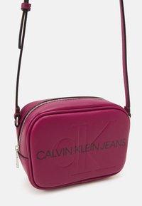 Calvin Klein Jeans - CAMERA BAG - Across body bag - dark clove - 3