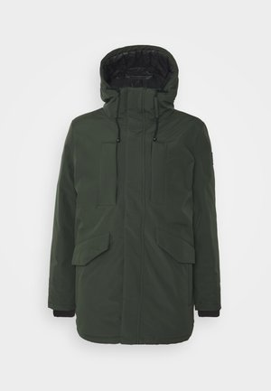 Winter jacket - bottle green
