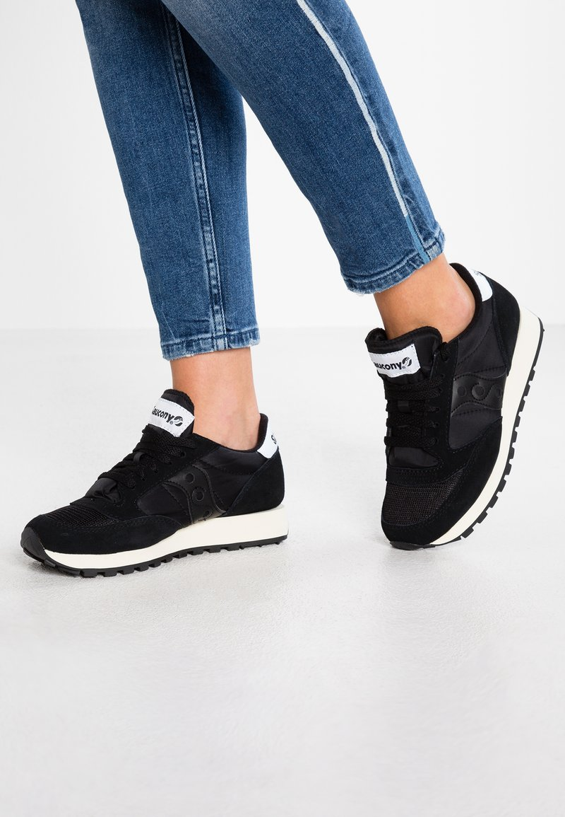 Saucony - JAZZ VINTAGE - Trainers - black