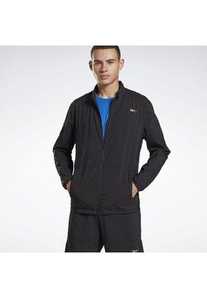 RUNNING ESSENTIALS WIND JACKET - Sports jacket - black
