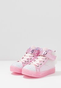 Skechers - SHUFFLE BRIGHTS - High-top trainers - light pink - 2
