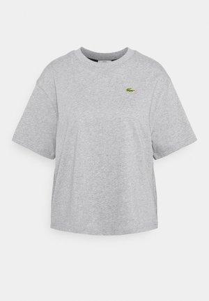 Print T-shirt - heather wall chine