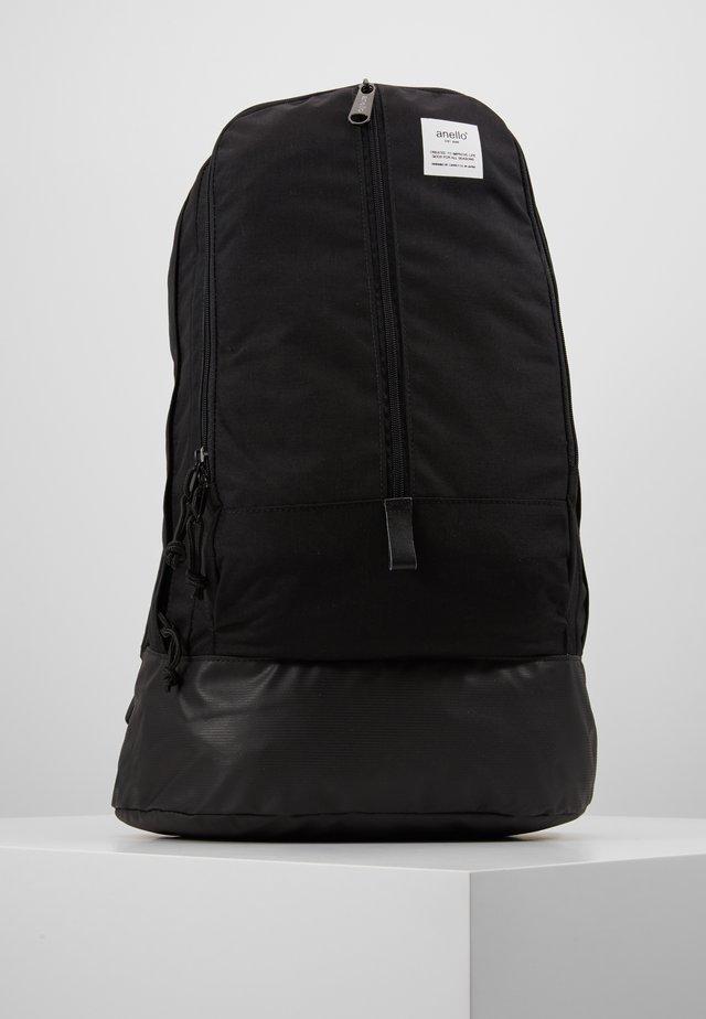 CENTRE ZIP BACKPACK - Rucksack - black