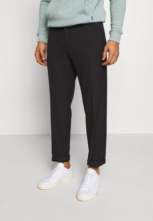PINO WAIST PANTS - Kalhoty - black