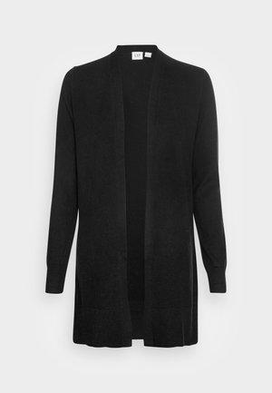 V BELLA OPEN THIRD - Cardigan - true black