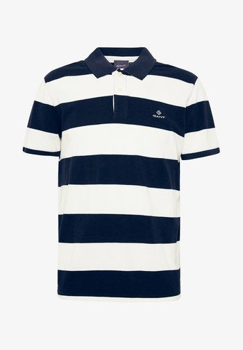 BARSTRIPE RUGGER - Polo shirt - eggshell
