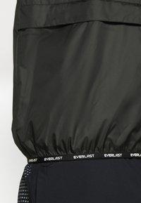Everlast - POP OVER RICKERS - Sportovní bunda - black - 5