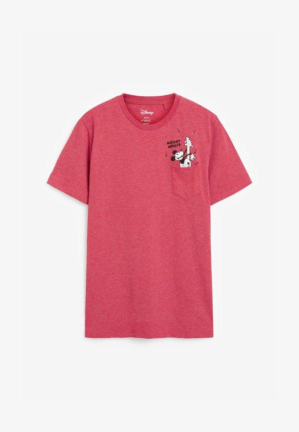 Next T-shirt z nadrukiem - red/czerwony Odzież Męska VACP