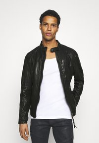 Tigha - HUTCH - Leather jacket - black - 3