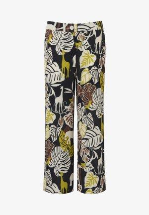 CULOTTE CULOTTE - Trousers - schwarz/multiclor