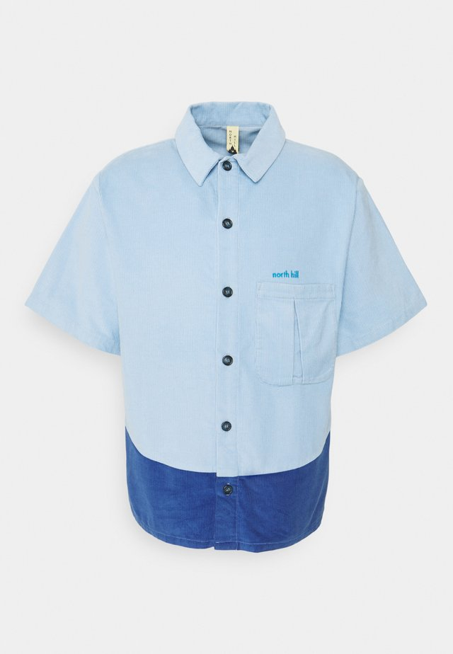 SHORT SLEEVE SHIRT - Skjorte - blue
