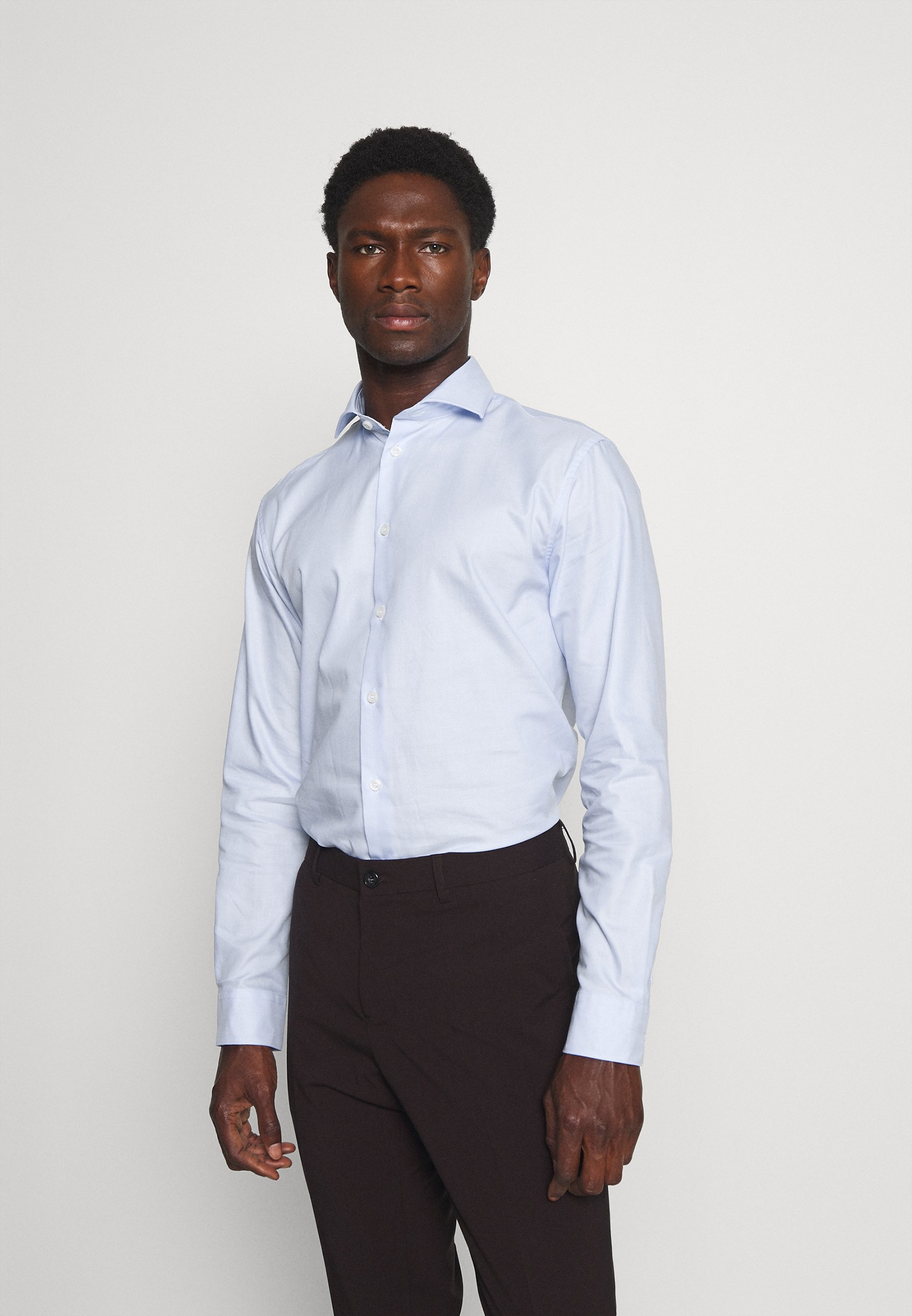 Men SLHSLIMETHAN CUT AWAY - Formal shirt