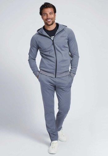 Zip-up sweatshirt - grau