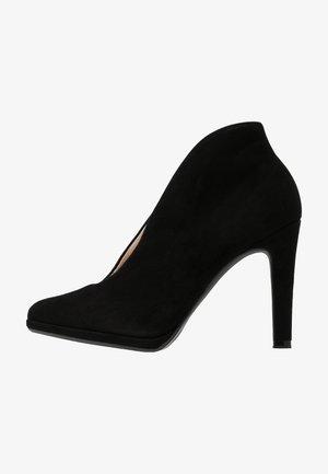 HALEY - High heeled ankle boots - schwarz