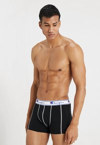 Champion - BOXER 3 PACK - Pants - black/grey/royal blue - 4