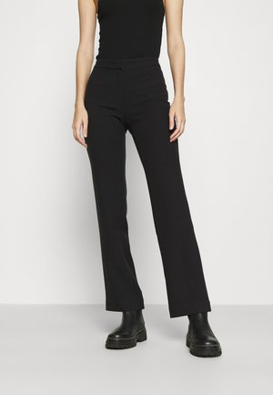 CHANA TIGHT SUIT TROUSER - Stoffhose - black