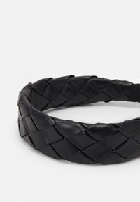 LIARS & LOVERS - PLAITED WIDE HEADBAND - Hair Styling Accessory - black - 2