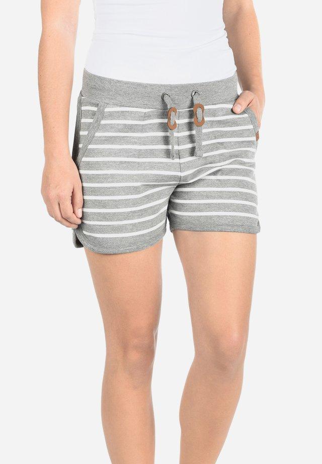 KIRA - Shorts - grey denim