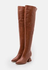 RAID - SPIRAL - Over-the-knee boots - tan - 2