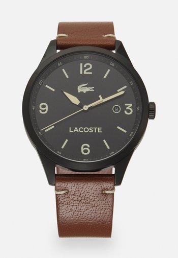 TRAVELER - Watch - brown/black