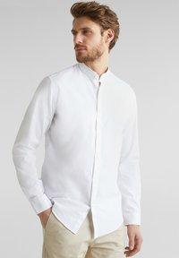 Esprit - MIT STEHKRAGEN - Shirt - white - 0