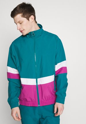 TRACK JACKET - Veste légère - dark teal green