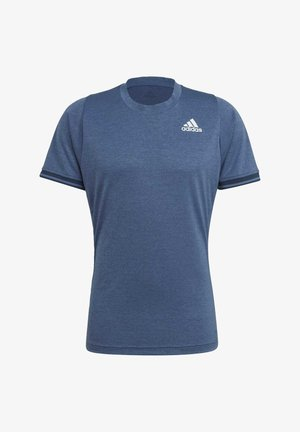 TENNIS FREELIFT T-SHIRT - Camiseta estampada - blue