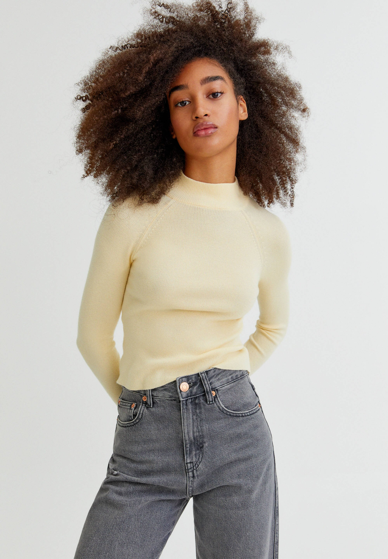 Femme MIT STEHKRAGEN  - Pullover