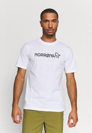 /29 - T-shirt print - pure white