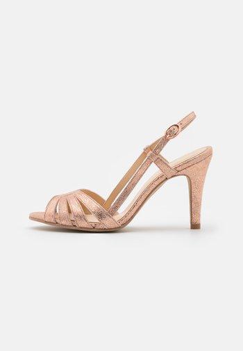 ANDES - Sandaler med høye hæler - light pink