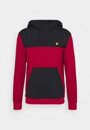 COLOUR BREAKER TECH  - Sweatshirt - ruby