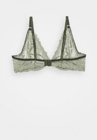 Women Secret - GUIPURE - Triangle bra - light khaki - 1