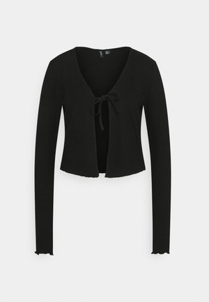 VMRILEY CROP CARDIGAN - Gilet - black