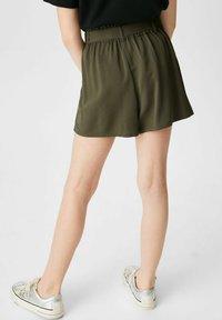 C&A - Shorts - dark green - 1