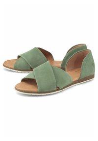 Apple of Eden - CHIUSI - Sandals - khaki - 1