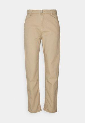 PIERCE - Pantalon classique - brown