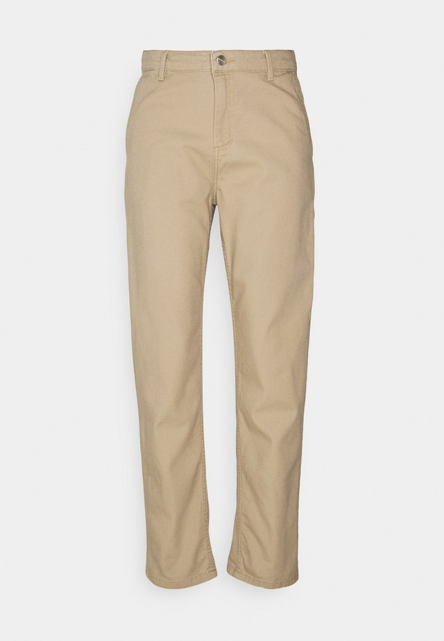 PIERCE - Trousers - brown