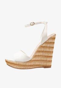 ALDO - CILMACLYA - High heeled sandals - white - 1