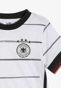 adidas Performance - DEUTSCHLAND DFB HEIMTRIKOT MINI - Oblečení národního týmu - white/black - 6