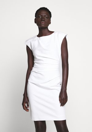 MISTRETCH - Shift dress - bright white